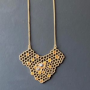 Chloe and Isabel Honeycomb Necklace